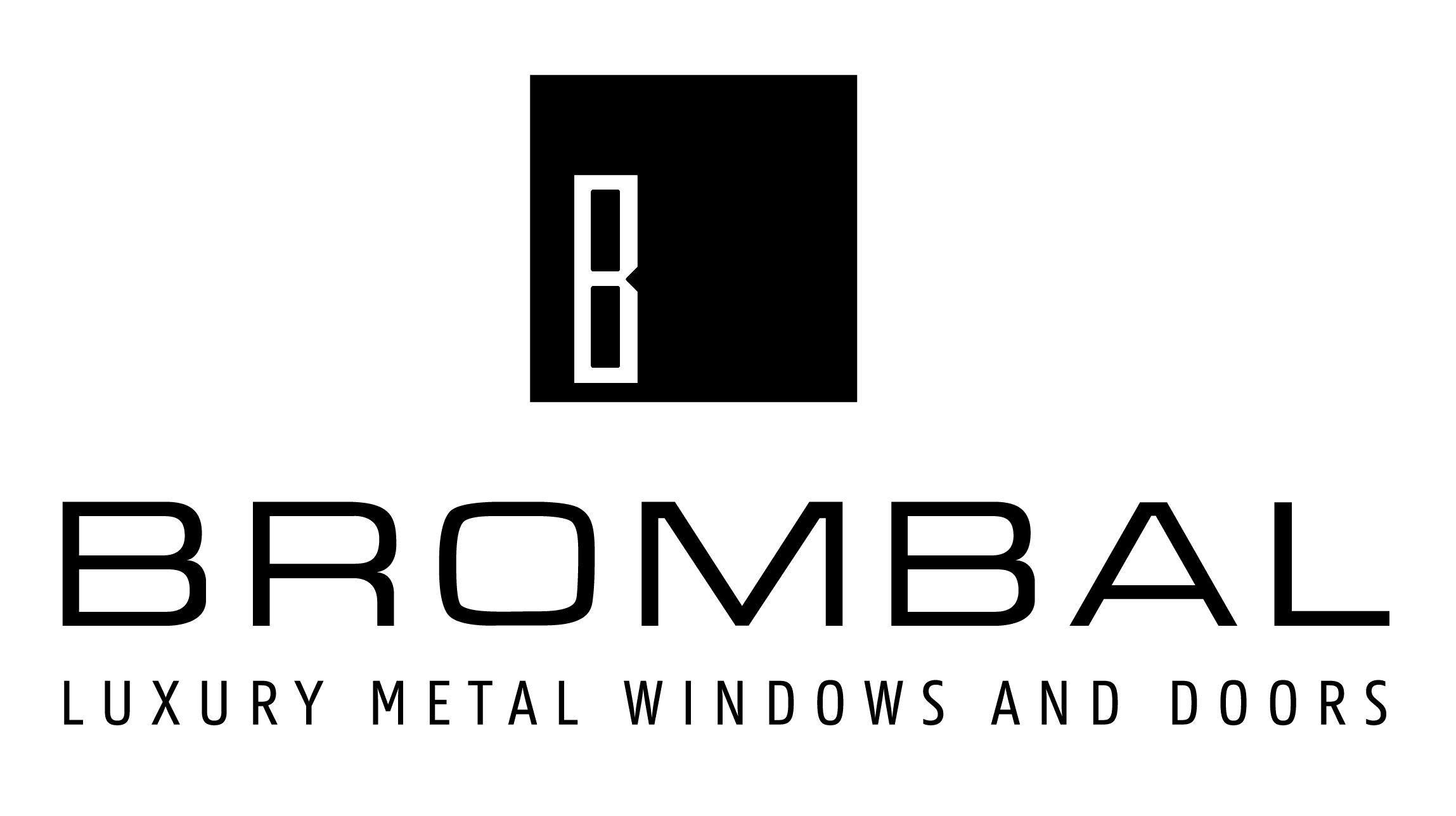 Brombal Luxury Metal Windows and Doors Logo