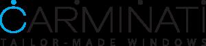 Carminati Serramenti minimal frame logo