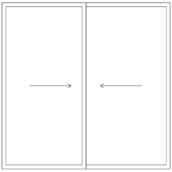 Representation of a sliding window