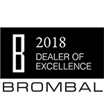 Veranda View was awarded Brombal's 2018 Dealer of Excellence Award