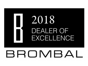 Veranda View was named a Brombal Dealer of Excellence.