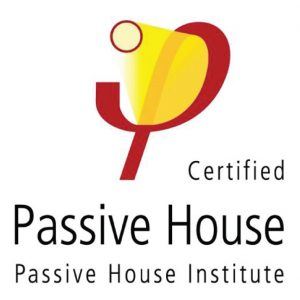 The Certified Passive House logo