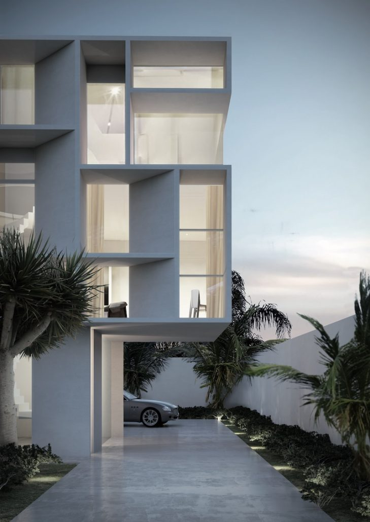 Minimal AS aluminum windows by Contempo Vista allows for a full glass exterior without visible joints