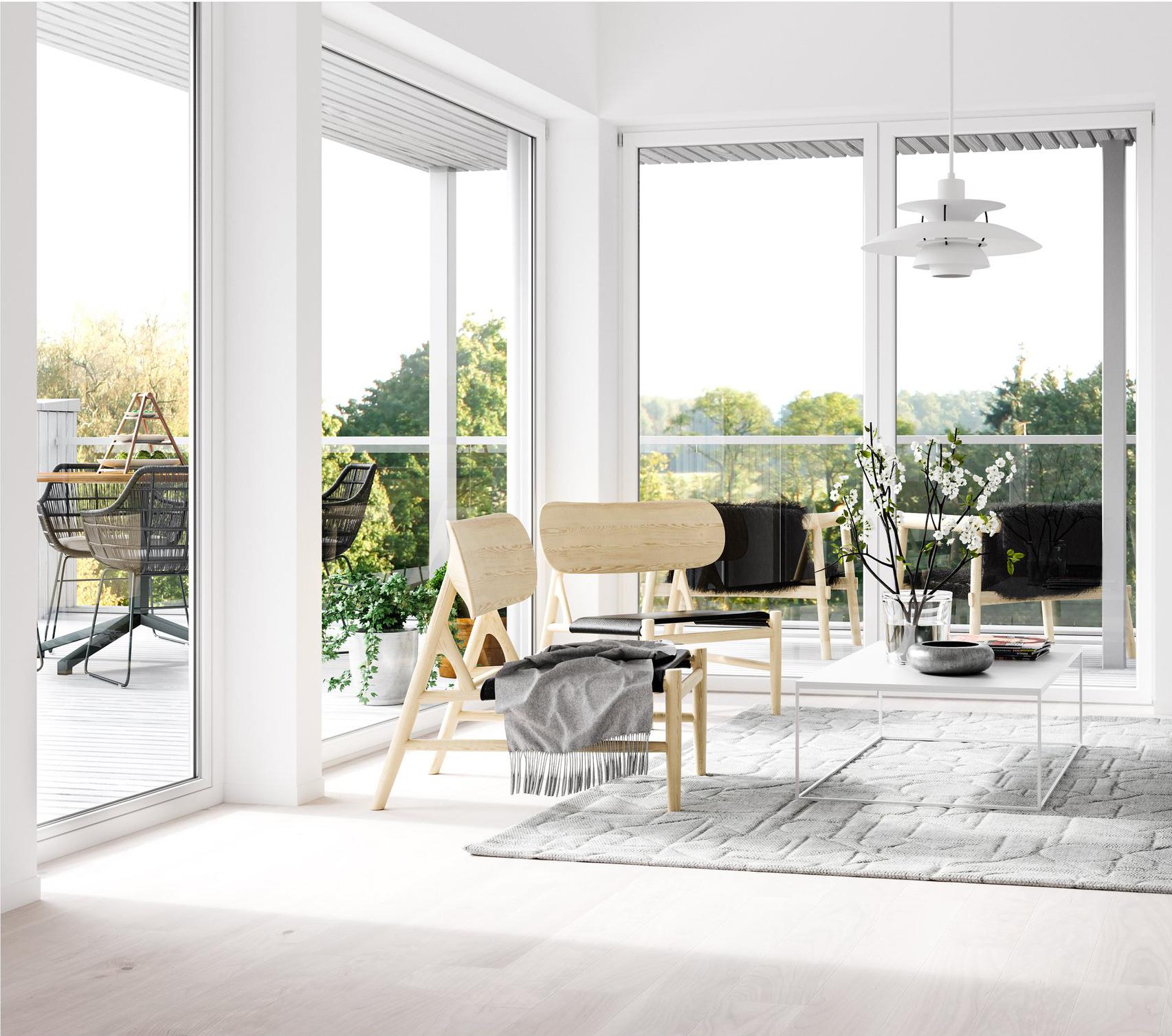 aluminum minimal frame windows and doors